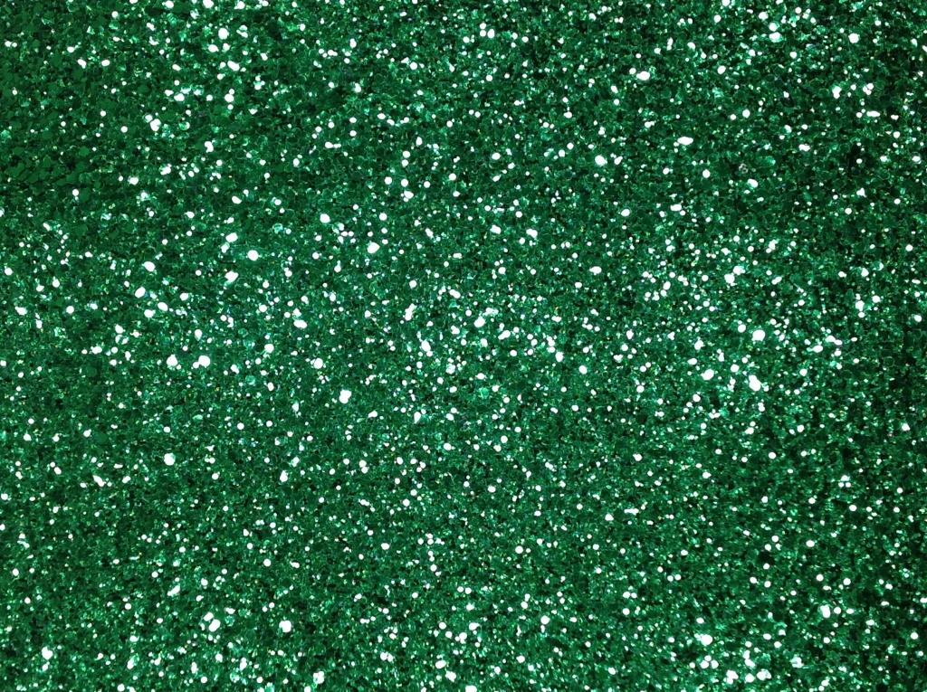 Cocktail-Tapete Grün Glimmer
